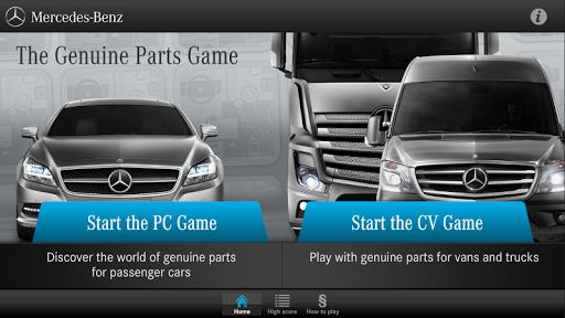 Mercedes-Benz Parts Game