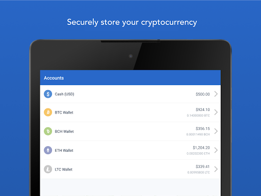 Coinbase u2013 Buy and sell bitcoin. Crypto Wallet for Android apk 8