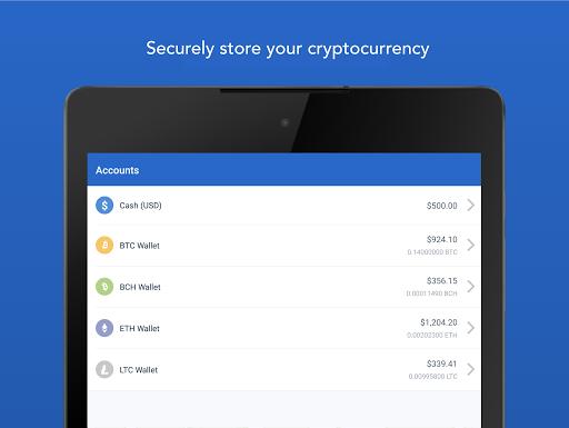 Coinbase - Buy Bitcoin & more. Secure Wallet. 5.5.1 screenshots 8