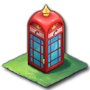 赤電話ボックス(バロック)