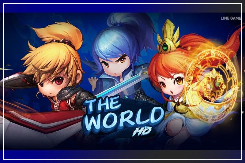 [LINE GAME] เตรียมปล่อยเกมใหม่ The World HD เปิดลงทะเบียนล่วงหน้ารับไอเทม!