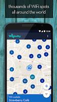 Screenshot of WIFFINITY - FREE WIFI ACCESS