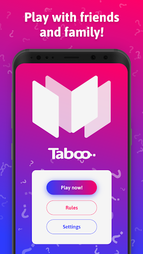 mTaboo - tabu, forbidden words party game! - screenshot