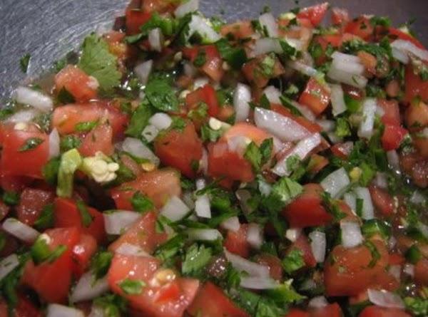 Pico De Gallo (salsa Cruda, Salsa Fresca) Recipe
