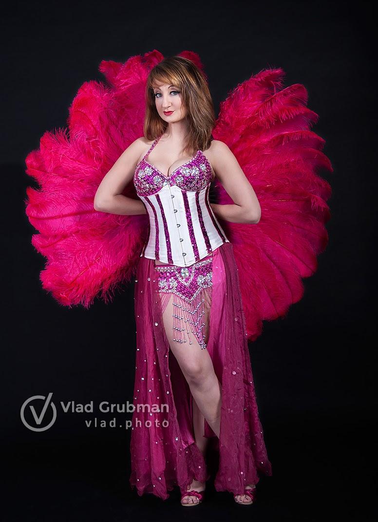 Aphrodite, the burlesque dancer