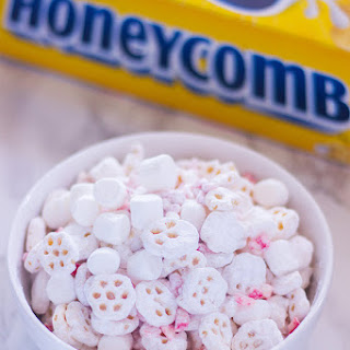 Honeycomb Peppermint Puppy Chow.