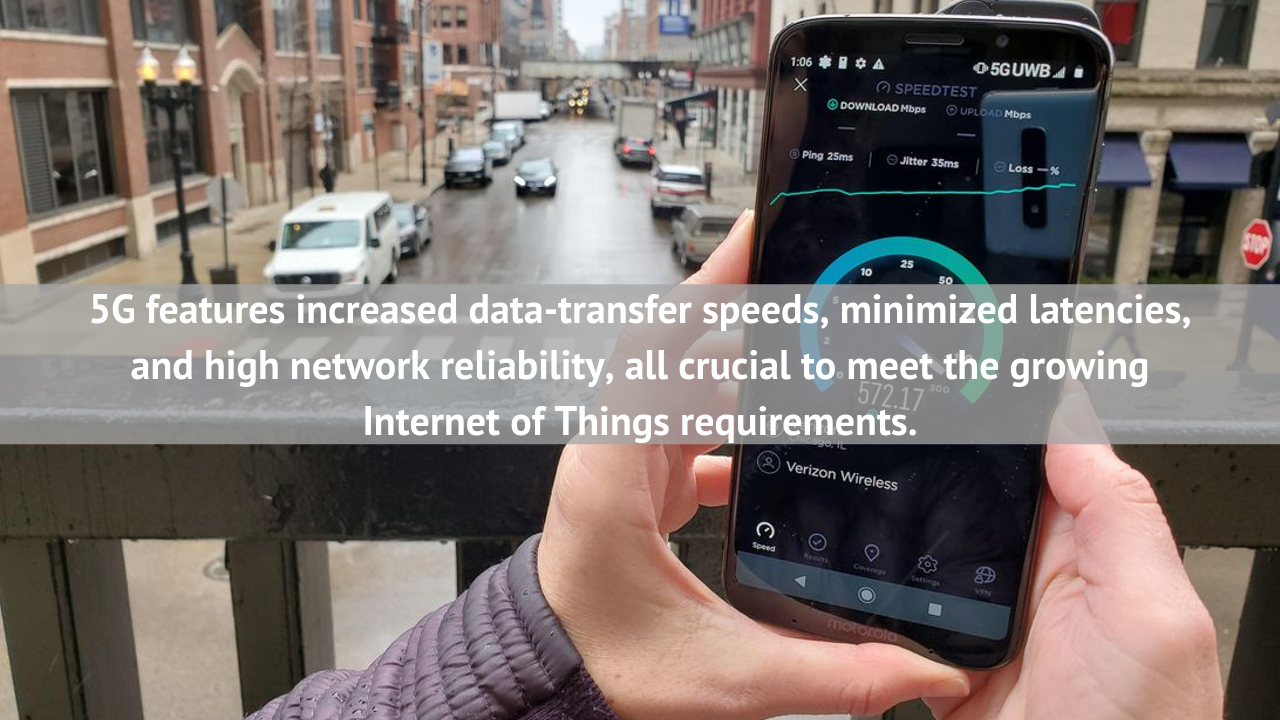 5G will help IoT platform unveil its full potential