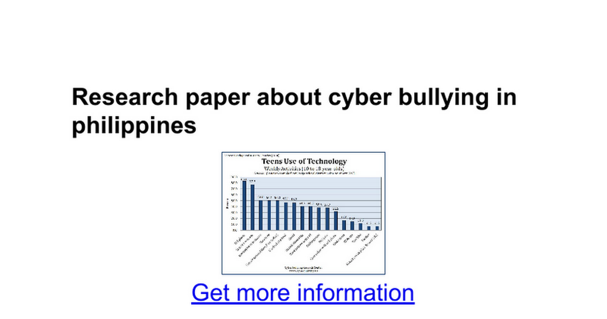 research paper questions on bullying