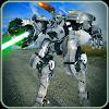 Futuriste Mafia Robot Bataille