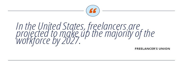 quote about freelancers