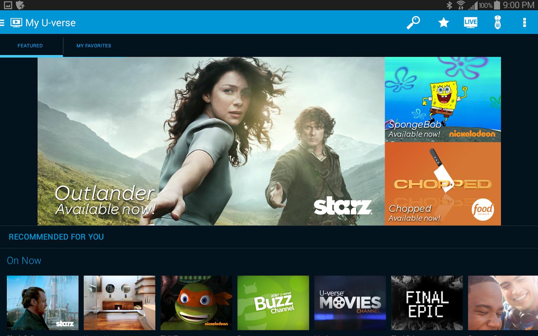 AT&T U-verse- screenshot