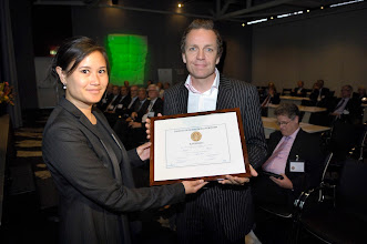 Photo: Celsentri Kandidaat Galenus Geneesmiddelenprijs 2009 in Leidenfoto © Bart Versteeg