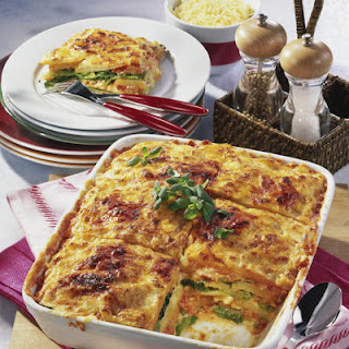 Cabbage and Potato Lasagna.