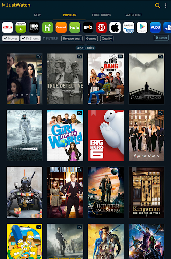 JustWatch - Search Engine for Streaming and Cinema 0.22.3 screenshots 8