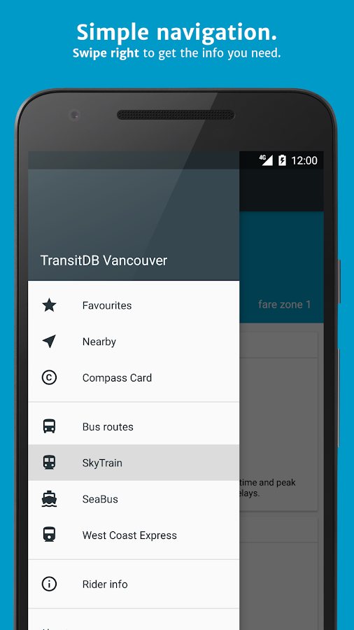 TransitDB Vancouver- screenshot
