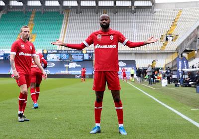Lamkel Zé maandag tegen Anderlecht, waar hij als 16-jarige ook al het truitje van droeg