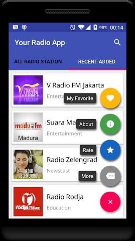 android Your Radio App Demo Screenshot 5