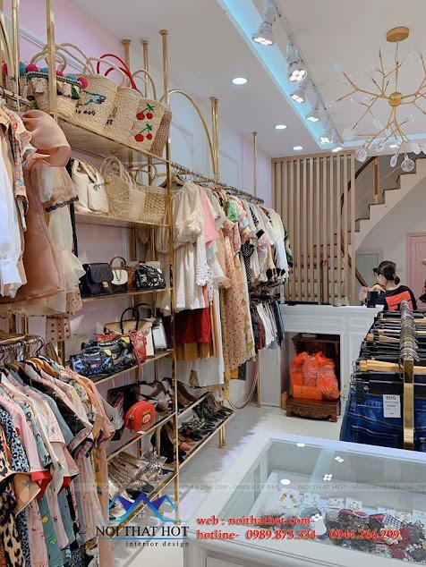 thiết kế và thi công shop thời trang