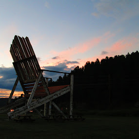 The world's largest lawn chair! by Samantha Walls - Buildings & Architecture Statues & Monuments