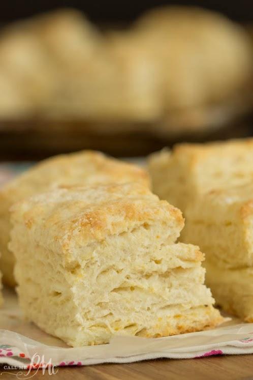 Cream Cheese Buttermilk Biscuit