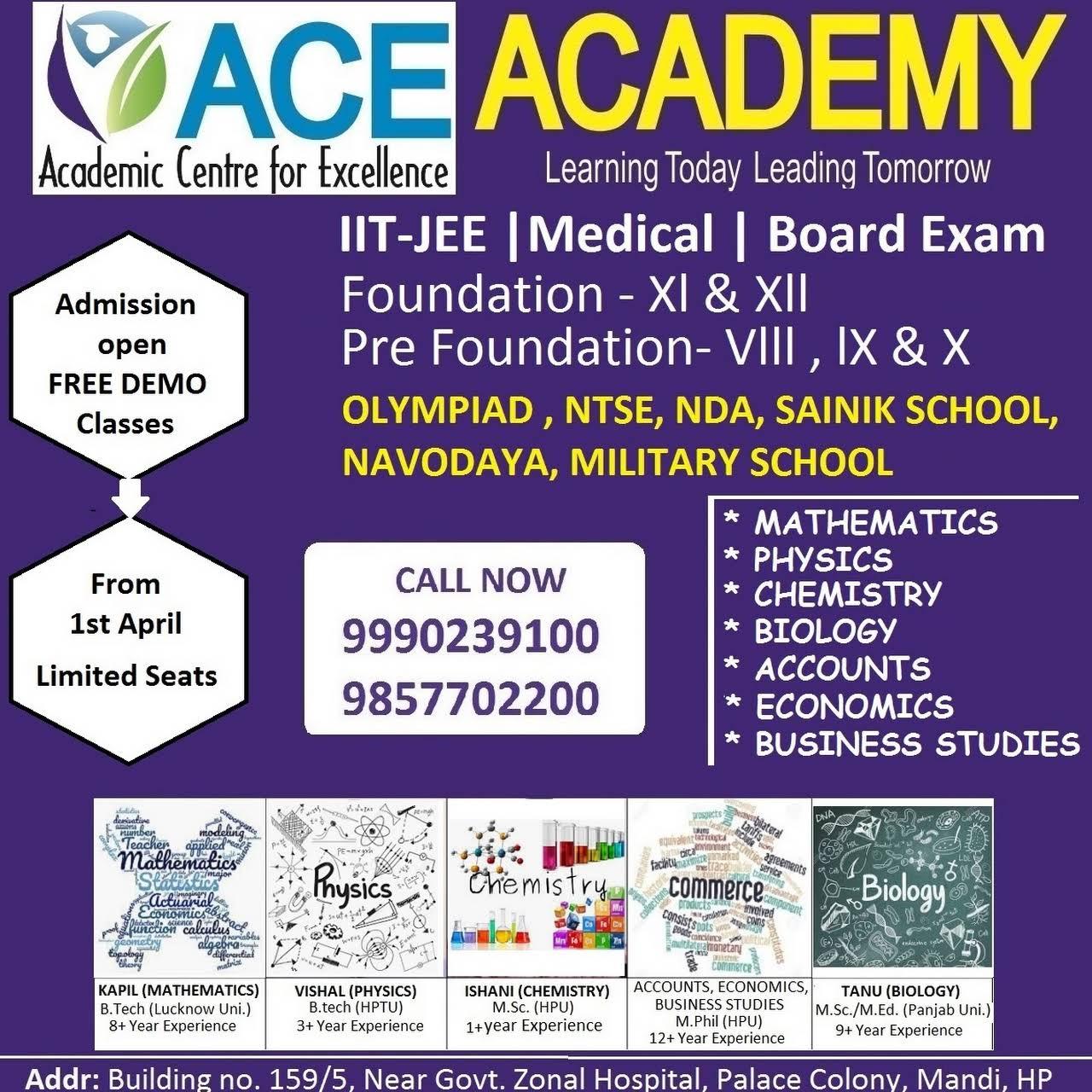 ACE Academy Mandi - Education Center in Mandi