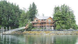 Alaskan Island Home