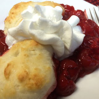 Mom's Cherry Cobbler