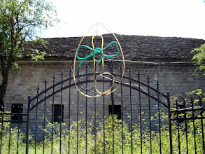 Photo: A phallicay church symbol of some sort