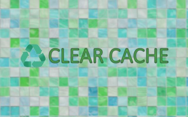 Chrome Clear Cache