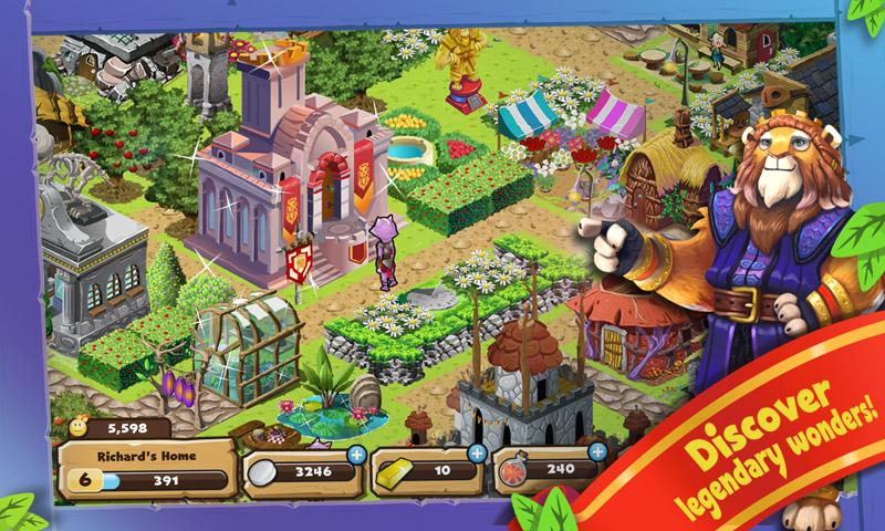 Brightwood Adventures:Meadow Village! screenshot 4