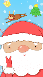 Red Christmas Reindeer LWP Apk Download Free for PC, smart TV