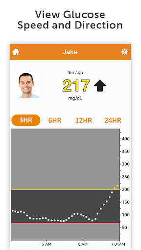 Dexcom Follow Screenshot