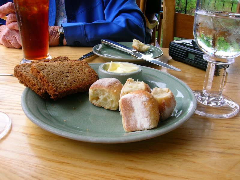 Photo: Bread plate at Simon Pierce, the only pic in this album where I didn't bake the goods.
