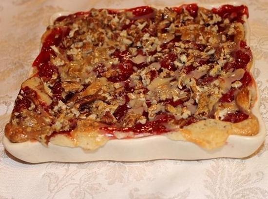Sugar Cookie Cherry Pecan Pie Recipe