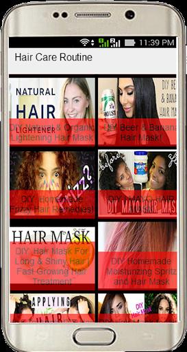 玩免費遊戲APP|下載Hair Care Routine app不用錢|硬是要APP