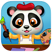 Baby Panda Paintbox FREE Games