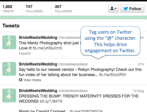 Bride Meets Wedding Twitter