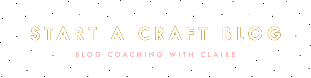Craft Blog Kickstart - The Perfect Blogging Book For Beginners