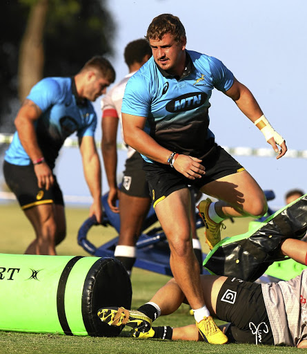 In the Bok line-up: Tighthead Ruan Dreyer has been rewarded for his fine Super Rugby form with a starting berth in Saturday's Test against France. Picture: STEVE HAAG/GALLO IMAGES