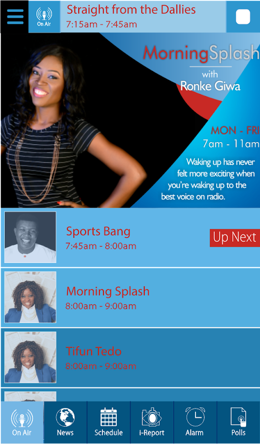 Splash FM 105.5- screenshot