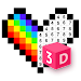 3D No.Draw – Color by Number icon