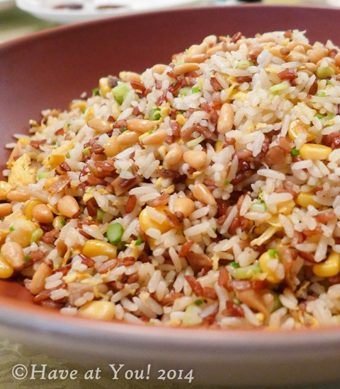 assorted grains fried rice