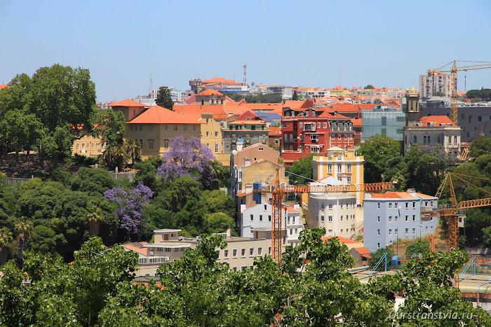 Смотровые площадки Лиссабона - мирадор Алкантара
