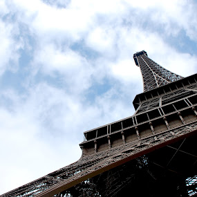 Under the Eiffel by Azzah Rahman - Buildings & Architecture Public & Historical ( paris, eiffel tower, historical tower, france, bir hakeim )