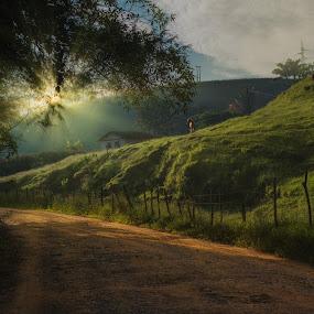 He comes the Sun by Marcos Lamas - Landscapes Sunsets & Sunrises