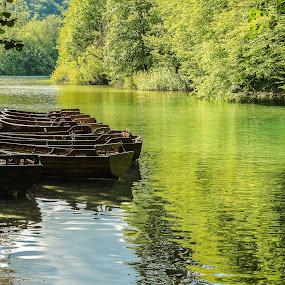 Plitvice by Marko Dragović - Landscapes Waterscapes ( plitvice, croatia, lake, plitvice lakes )