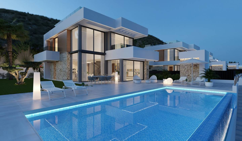Maison avec piscine et terrasse Finestrat