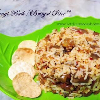 Vaangi Bath/Brinjal Rice