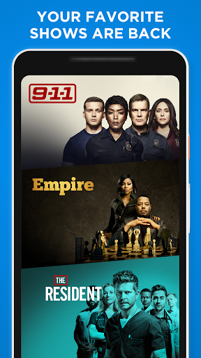 FOX NOW: Live & On Demand TV, Sports & Movies 3.9.2 screenshots 1