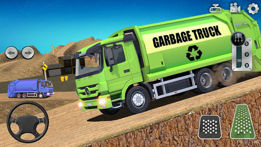 Offroad Garbage Truck Simulator Trash Driver Games screenshots 1